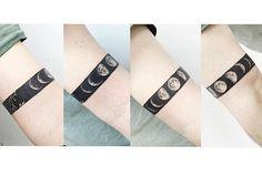 : Blackarm band tattoo Moon & Leaves . #tattooistbanul #tattoo #tattoos #Tattoosupplybell #equillatera #blackarmband #armband #blackworkers #blackwork #tattoomagazine #tattooartist #moontattoo #tattoostagram #tattooart #tattooinkspiration #타투이스트바늘 #타투 #블랙암밴드