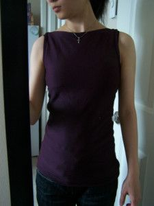 Boat Neck Tank Top - I originally found this great project on freeneedle.com along with 1,000s of other free sewing and craft ideas!
