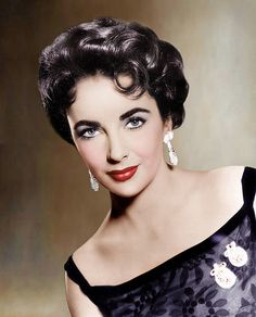 """Known for her role as Cleopatra in 1963's """"Cleopatra,"""" Elizabeth Taylor is a Hollywood icon during this time. She was the first actress to ever earn  $1 million for a movie."""