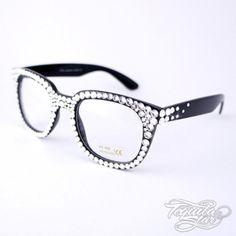 fa9d1ec543ad diamond nerd glasses BD by adley Geek Glasses