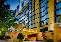 Courtyard Buckhead Atlanta This Atlanta, Georgia hotel is within 1 minutes' walk of the MARTA rail station. A free transfer service within a radius, an on-site restaurant, and free WiFi are provided to all guests as well. Atlanta Hotels, Atlanta Buckhead, Atlanta Georgia, Find Cheap Hotels, Us Destinations, Hotel Reservations, Four Seasons Hotel, United States, Nice
