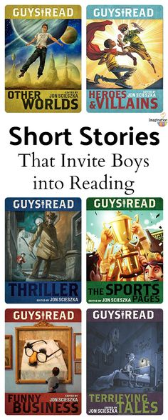 Guys Read: short stories for upper elementary and middle school boys