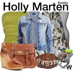 Inspired by Felicia Day as Holly Marten on Eureka.