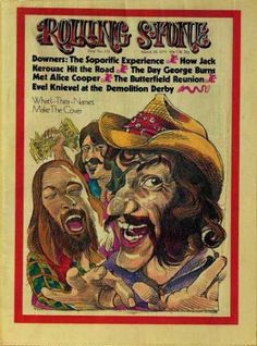 Barewalls Rolling Stone Cover of Dr. Hook & the Medicine Show/Rolling Stone Magazine Vol. March Art Print by Gerry Gersten Rock N Roll Music, Rock And Roll, Lps, Dr Hook, Rolling Stone Magazine Cover, Rollin Stones, George Burns, Jackson Browne, Easy Youtube