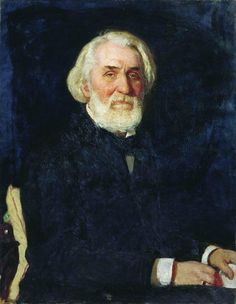 Ilia Repin Портрет Ивана Тургенева. 1879