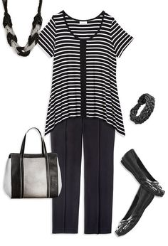 Sassy in Stripes,