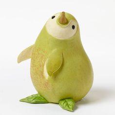 Home Grown Veggie Animal Figurine - Pear Penguin