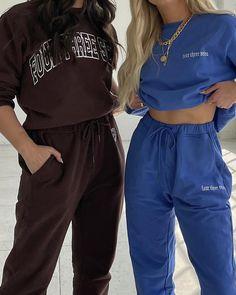 Use PINTEREST10 at checkout for 10% off sitewide xx lounge wear, ribbed knit, matching set, two piece, loungewear sets, at home style, cozy, lounge style, comfortable joppers, streetstyle, sweatsuit, crewneck, sweatpants, 2 piece set, sweatshirt, brown loungewear, blue loungewear, bff style, women's fashion, outfit ideas, outfit goals, fashion inspo outfits, style 2021, spring, summer fashion, streetwear, 2021 trends women, casual fashion, outfit, spring fashion, spring style Outfit Goals, Outfit Ideas, Swim Club, Lounge Wear, Spring Fashion, Street Wear, Street Style, Spring Style, Spring Summer