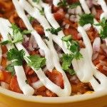 7-Layer Chili Dog Dip