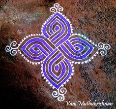 My Kolam: single colour Rangoli Designs Latest, Simple Rangoli Designs Images, Rangoli Border Designs, Rangoli Designs Diwali, Rangoli Designs With Dots, Rangoli With Dots, Beautiful Rangoli Designs, Latest Rangoli, Diwali Rangoli