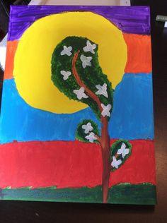 Tree with flowers by Nika0625.deviantart.com on @DeviantArt