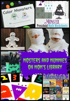 Life with Moore Babies: Monsters and Mummies on Mom's Library