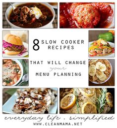 Think outside the slow cooker box with these delicious, easy and healthy slow cooker meals.
