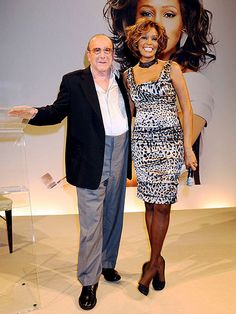 ON THE ROAD AGAIN photo | Clive Davis, Whitney Houston - released in August 2009, Houston's seventh effort, I Look to You, marked her first No. 1 album since The Bodyguard.  Though it seemed she was ready for a career revival, she cancelled several live performances and had poor reviews on the performances that she did.