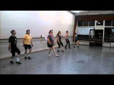 American Dance Institute's Adult Irish Dance Class 2014