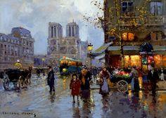 Édouard Cortès 1882-1969 | French post-impressionist painter