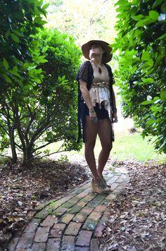 Festival lace crop top Bohemian gypsy hankie by TrueRebelClothing