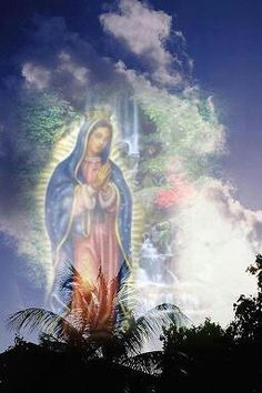 Happy Feast day of Our Lady of Guadalupe Blessed Mother Mary, Divine Mother, Blessed Virgin Mary, Catholic Art, Religious Art, Madona, Hail Holy Queen, Catholic Pictures, Images Of Mary