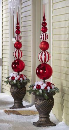 christmas decor ornament ball ideas
