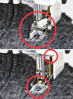 How to use a walking foot. This sewing machine foot will save you headaches, making it possible to sew over thick layers and sticky or slippery fabrics, as well as keep stripes and plaids perfectly lined up! Part of the Learn to Sew series on www.cucicucicoo.com