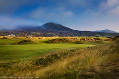 Ballyliffin Glashedy 18th hole - County Donegal, Ireland.