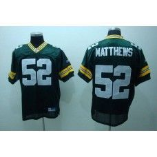 2f2ec258beb Packers  52 Clay Matthews Green Stitched NFL Jersey