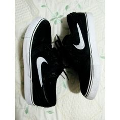 Nike Stefan Janoski black canvas skate shoes Used but I cleaned and sanitized it as much as I could so it could be in a good enough condition to sell. Size 7 youth in men. Selling for my brother so price is kind of firm. Bought these online (plus shipping and tax) so that explains the original price. For more info, feel free to ask below ^^  Don't know why the quality of the pics suck on posh but if you want a clearer image, just comment your email and I'll send them to you :) Nike Shoes…