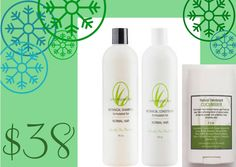 feel fabulous and avoid the harsh ingredients of conventional hair products and deodorants
