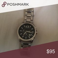 Armani Exchange watch Just like new Armani watch! Only worn a couple of times. A/X Armani Exchange Other