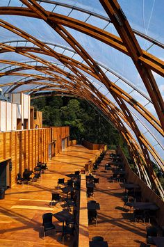 Innovative Timber Frame at Waitomo Glowworm Caves Visitor Centre in New Zealand by Architecture Workshop
