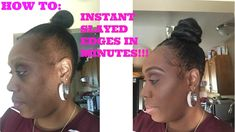 How To: Make Instant SLAYED Edges in Minutes [Video] Read the article here - http://blackhairinformation.com/uncategorized/make-instant-slayed-edges-minutes-video/