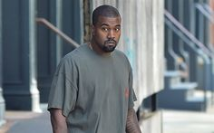 Download wallpapers Kanye Omari West, American singer, rap, portrait, American celebrities