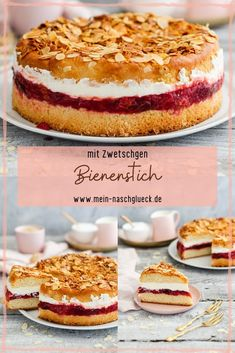 Here you will find a simple recipe for a bee sting with juicy yeast dough and a simple filling of cream and plums # plum cake # bee sting # yeast dough Bee sting with plum recipe Mein Naschglück meinnaschglueck Mein Naschglück Rezepte Here you will Raspberry Cheesecake Cookies, White Chocolate Raspberry Cheesecake, Easy No Bake Cheesecake, Best Cheesecake, Cheesecake Bites, Cheesecake Recipes, Cookie Recipes, Homemade Oreo Cookies, Homemade Desserts