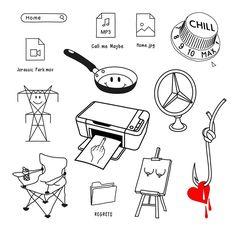 Baby Tattoos, Mini Tattoos, Cute Tattoos, Body Art Tattoos, Small Tattoos, Tatoos, Tattoo Flash Sheet, Tattoo Flash Art, Sketch Tattoo Design