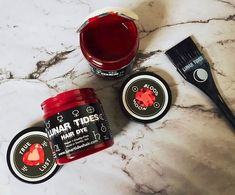 For the Ultimate Red try our Mars Pack - Blood Moon + True Lust + Cranbaby + our Marble Moon Tint Brush! Red Burgundy Hair Color, Dark Red Hair, Blood Moon, Hair Colour, Mars, Lust, Beauty, Ideas, Dark Auburn Hair Color