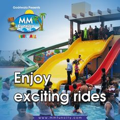 #Enjoy exciting rides for the little #fun seekers, only at #MMFunCity. For More: https://goo.gl/Su9dWZ #WaterPark #Chhattisgarh #Raipur
