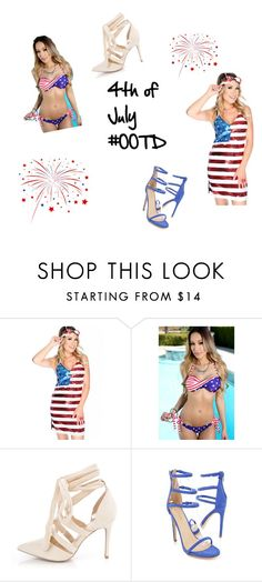 """""""4th Of July #OOTD"""" by amiclubwear ❤ liked on Polyvore"""