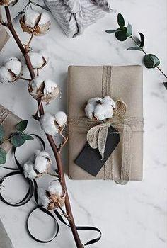 pretty cotton present