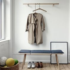Skagerak's Georg is a charming collection of wooden furniture that took inspiration from the need to hang and store items in domestic hallways. The stools, tables, mirrors and coat racks, designed by Chris Liljenberg Halstrøm, feature a minimalist design influenced by Scandinavian and Japanese aesthetics.