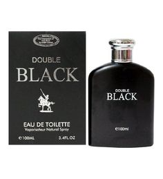 Double Black 3.4oz EDT Men Spray by Royal Fragrance  http://www.themenperfume.com/double-black-3-4oz-edt-men-spray-by-royal-fragrance/