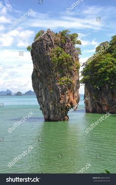 stunning photo of James Bond Island (Ko Khao Phineas Kan) is an island in Phang Nga Bay Thailand