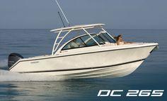 Pursuit Boats: DC 265 Dual Console