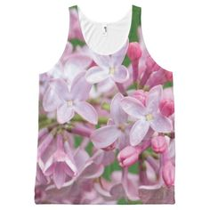 Lilac Summer Tank Top All-Over Print Tank Top