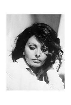 Sofia Loren, 1969 - Vintage Photography Archive - Acrylic Glass Print