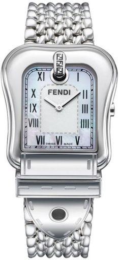 FENDI Womens Stainless Steel Bracelet