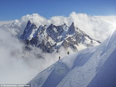 French authorities have restricted access to Mont Blanc, pictured, for at least a week due...