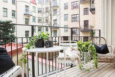 Balcones pequeños con mucho encanto : via La Garbatella