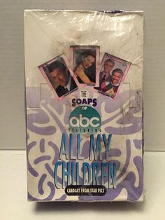 (TAS012974) - 1991 Star Pics The Soaps of ABC Featuring All My Children Cards