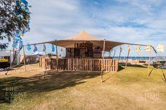 10m x 8m Sand Bedouin Stretch Tent - Festival Set Up #festival #bedouin #stretch #tent #marquee #shelter #shade #wedding #engagement #party #festival #event #hire #perth
