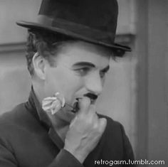 Charlie Chaplin from the end of City Lights…